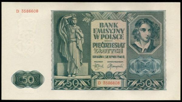 1.8.41 - (Sie sehen ein Musterbild, nicht die angebotene Banknote)