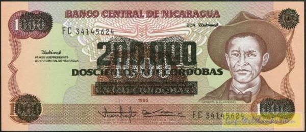 Üdr. auf Nr.156b - (Sie sehen ein Musterbild, nicht die angebotene Banknote)