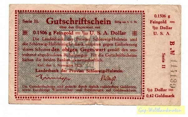1.11.23; mit Drfa - (Sie sehen ein Musterbild, nicht die angebotene Banknote)