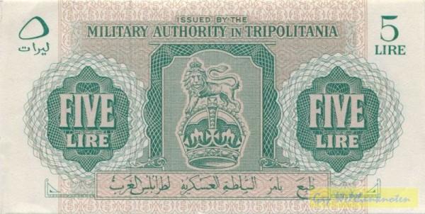 oD (1943) - (Sie sehen ein Musterbild, nicht die angebotene Banknote)