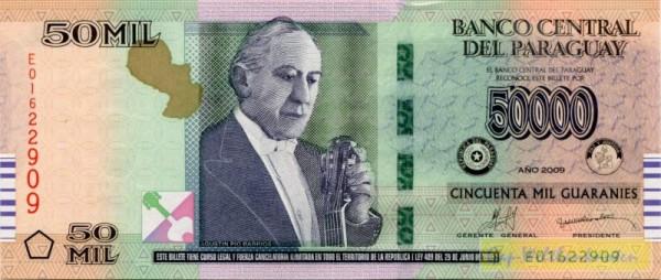 2009, E, G&D - (Sie sehen ein Musterbild, nicht die angebotene Banknote)