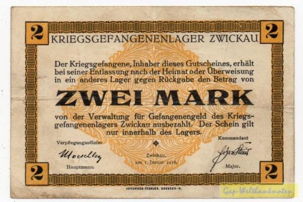 1.1.6, Wz. Pässler-Haken - (Sie sehen ein Musterbild, nicht die angebotene Banknote)