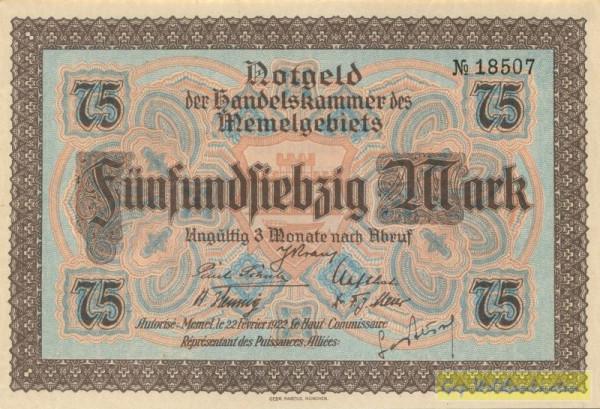 22.2.22 - (Sie sehen ein Musterbild, nicht die angebotene Banknote)