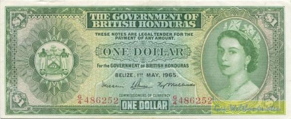 1.5.65 - (Sie sehen ein Musterbild, nicht die angebotene Banknote)