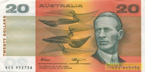 Fraser-Higgins - (Sie sehen ein Musterbild, nicht die angebotene Banknote)