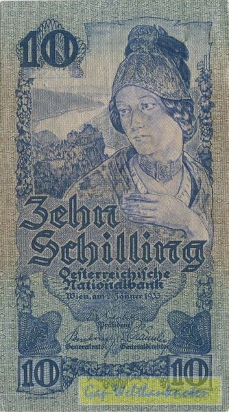 2.1.33 - (Sie sehen ein Musterbild, nicht die angebotene Banknote)