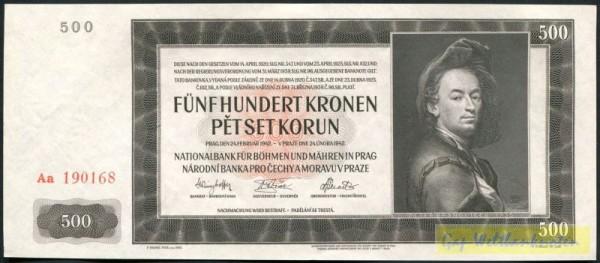 II. Auflage - (Sie sehen ein Musterbild, nicht die angebotene Banknote)