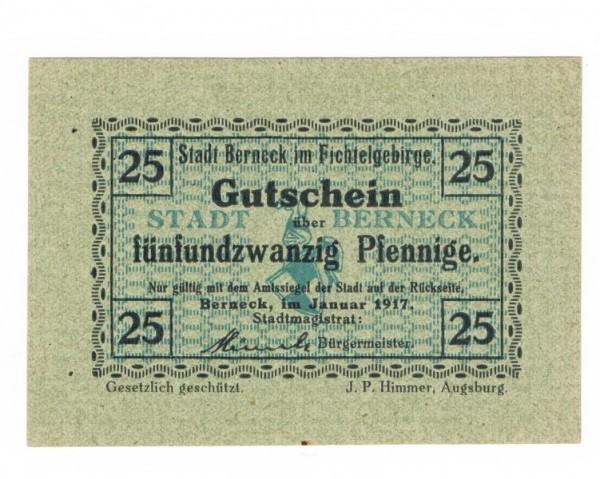 Jan.17, Pap. grün quadrilliert, Udr. blaugrün, ohne Stpl. - (Sie sehen ein Musterbild, nicht die angebotene Banknote)
