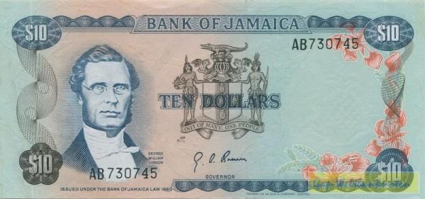 Us. 4, bds. 2 WZ schattiert und 2 WZ weiß - (Sie sehen ein Musterbild, nicht die angebotene Banknote)