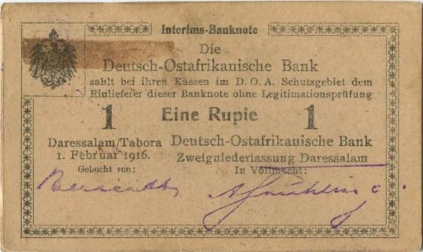 F3 - (Sie sehen ein Musterbild, nicht die angebotene Banknote)