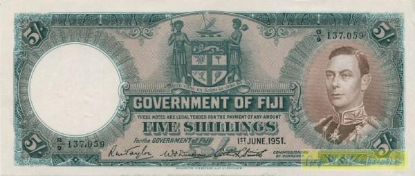1.6.51, Grf., s. III+ - (Sie sehen ein Musterbild, nicht die angebotene Banknote)