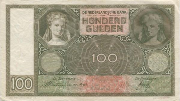 Westerman Holstjin/Trip - (Sie sehen ein Musterbild, nicht die angebotene Banknote)