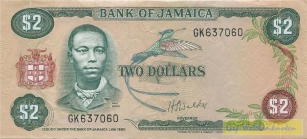 L1960, Us. 5 - (Sie sehen ein Musterbild, nicht die angebotene Banknote)