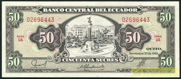 22.11.88, UA - (Sie sehen ein Musterbild, nicht die angebotene Banknote)