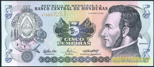 26.8.04 - (Sie sehen ein Musterbild, nicht die angebotene Banknote)