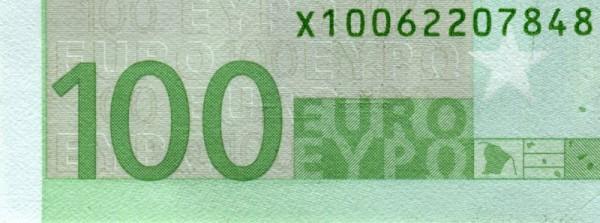 R008,011; E004 - (Sie sehen ein Musterbild, nicht die angebotene Banknote)