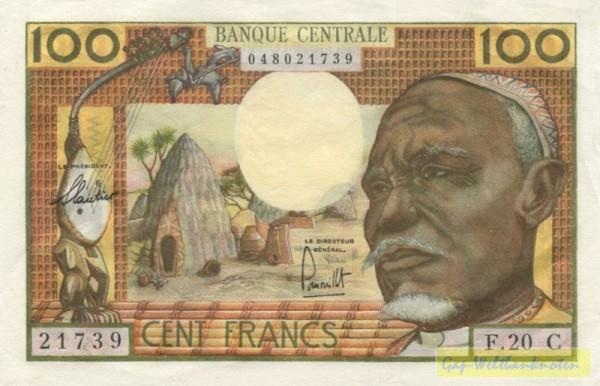 C=Kongo - (Sie sehen ein Musterbild, nicht die angebotene Banknote)