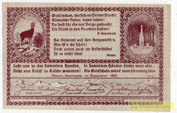 Dr. bds. rotlila, Bild violett - (Sie sehen ein Musterbild, nicht die angebotene Banknote)