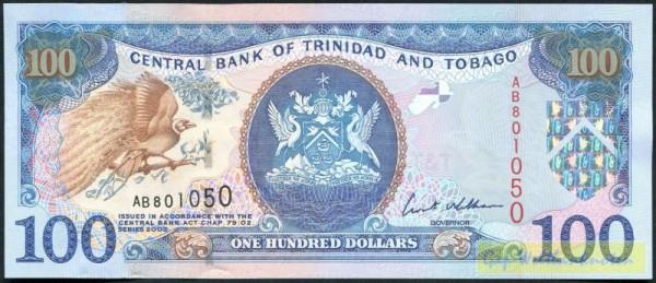 2002, Us. Williams - (Sie sehen ein Musterbild, nicht die angebotene Banknote)