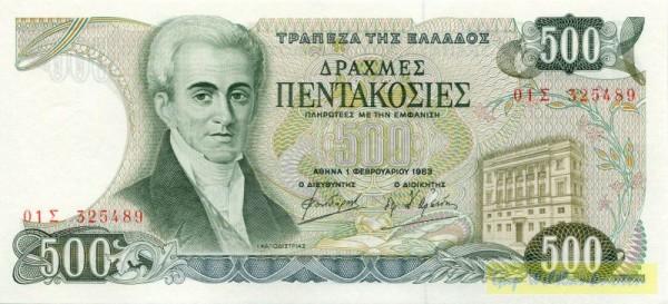 1.2.83, Sf. schmal - (Sie sehen ein Musterbild, nicht die angebotene Banknote)