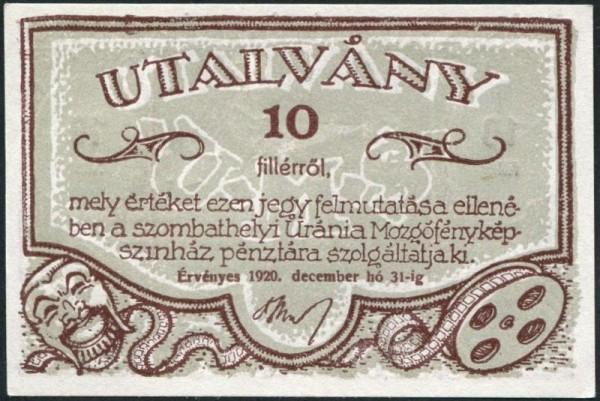 Anstrich 1 li lang, re lang - (Sie sehen ein Musterbild, nicht die angebotene Banknote)
