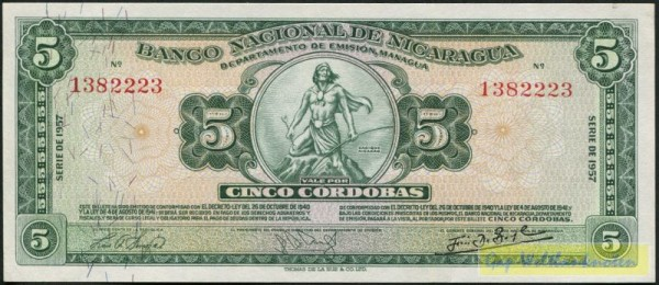 Serie A - (Sie sehen ein Musterbild, nicht die angebotene Banknote)