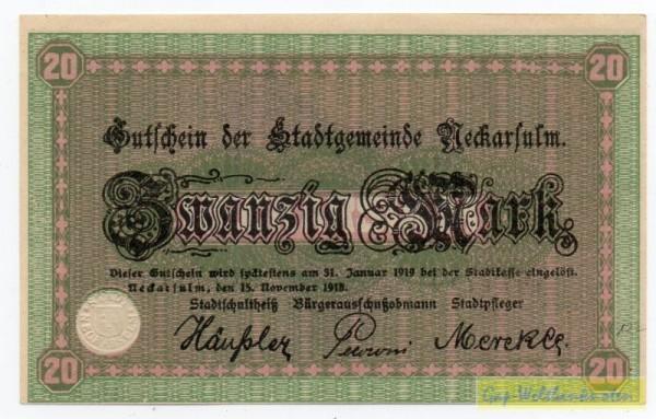 15.11.18 - (Sie sehen ein Musterbild, nicht die angebotene Banknote)