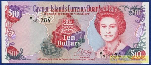 1996, B/1 - (Sie sehen ein Musterbild, nicht die angebotene Banknote)