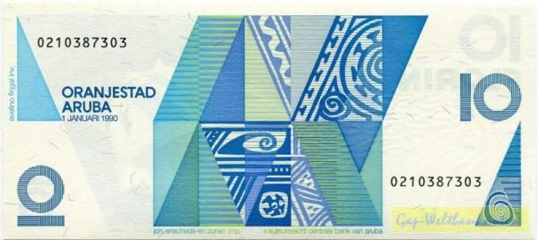 1.1.90 - (Sie sehen ein Musterbild, nicht die angebotene Banknote)