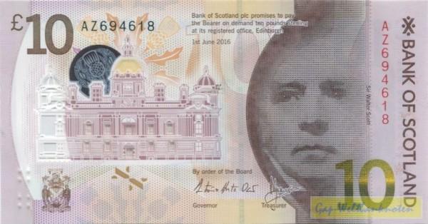 1.6.16, Plastik - (Sie sehen ein Musterbild, nicht die angebotene Banknote)