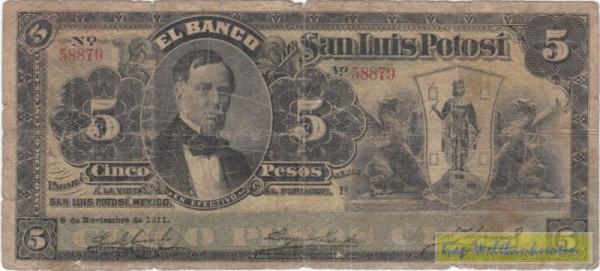 8.11.11 - (Sie sehen ein Musterbild, nicht die angebotene Banknote)
