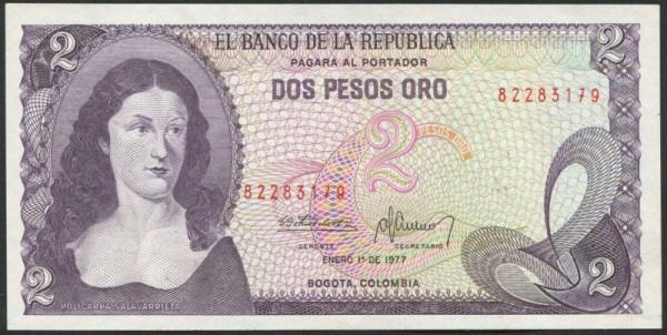 1.1.77 - (Sie sehen ein Musterbild, nicht die angebotene Banknote)