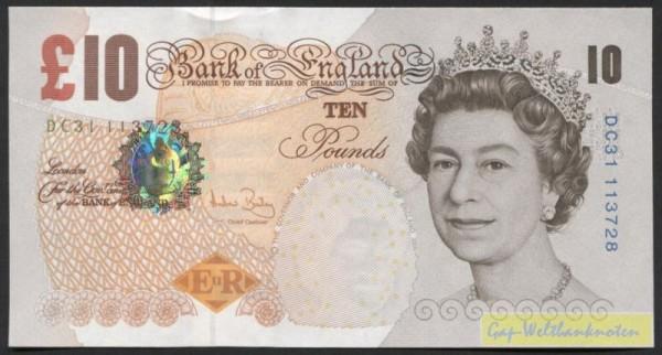 Us. Bailey - (Sie sehen ein Musterbild, nicht die angebotene Banknote)