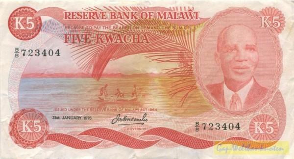 31.1.76 - (Sie sehen ein Musterbild, nicht die angebotene Banknote)