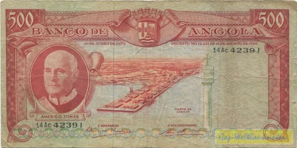 10.6.70 - (Sie sehen ein Musterbild, nicht die angebotene Banknote)