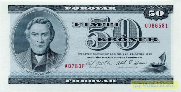 1978, Us. Groth/Dam - (Sie sehen ein Musterbild, nicht die angebotene Banknote)