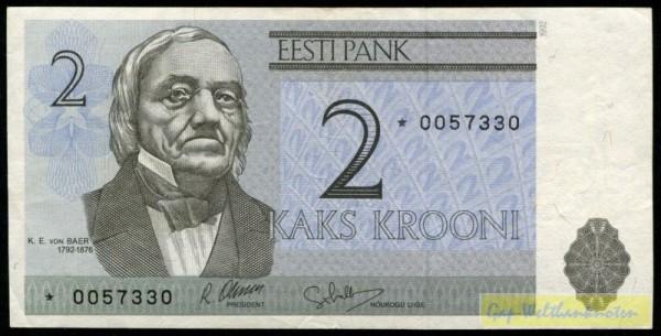 1992, *KN=Ersatznote - (Sie sehen ein Musterbild, nicht die angebotene Banknote)