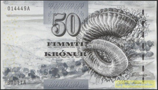 2001 - (Sie sehen ein Musterbild, nicht die angebotene Banknote)