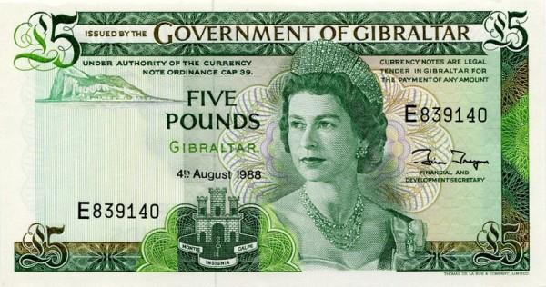 4.8.88 - (Sie sehen ein Musterbild, nicht die angebotene Banknote)
