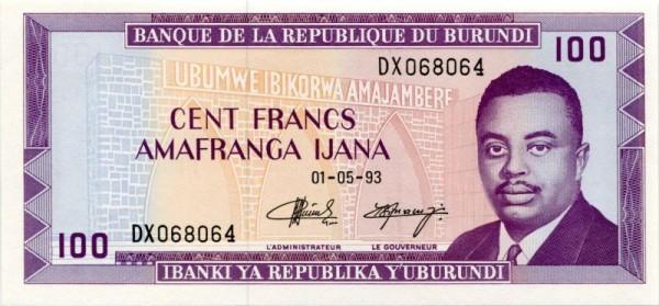 1.5.93 - (Sie sehen ein Musterbild, nicht die angebotene Banknote)