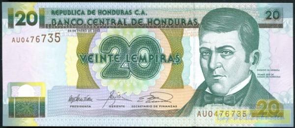 23.1.03 - (Sie sehen ein Musterbild, nicht die angebotene Banknote)