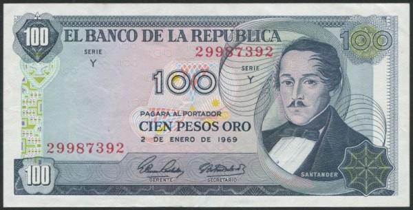 1.1.69 - (Sie sehen ein Musterbild, nicht die angebotene Banknote)