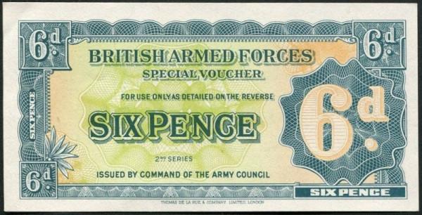 2. Serie, mit Sf. - (Sie sehen ein Musterbild, nicht die angebotene Banknote)