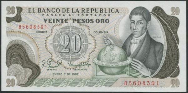 1.1.82 - (Sie sehen ein Musterbild, nicht die angebotene Banknote)