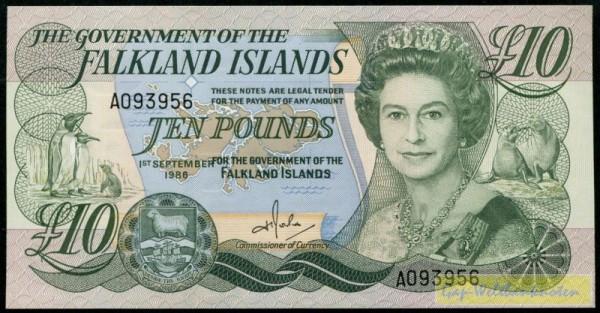 1.9.86 - (Sie sehen ein Musterbild, nicht die angebotene Banknote)