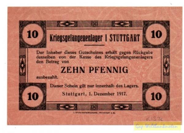 1.12.17 - (Sie sehen ein Musterbild, nicht die angebotene Banknote)