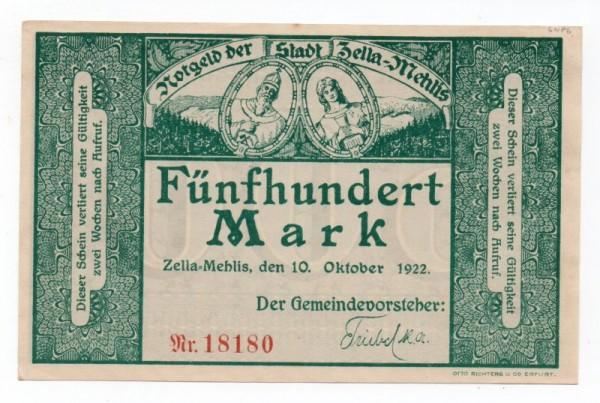 10.10.22, entwertet - (Sie sehen ein Musterbild, nicht die angebotene Banknote)