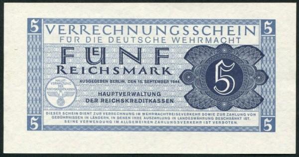 15.9.44 - (Sie sehen ein Musterbild, nicht die angebotene Banknote)