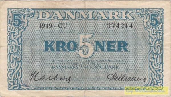 1949, CU - (Sie sehen ein Musterbild, nicht die angebotene Banknote)