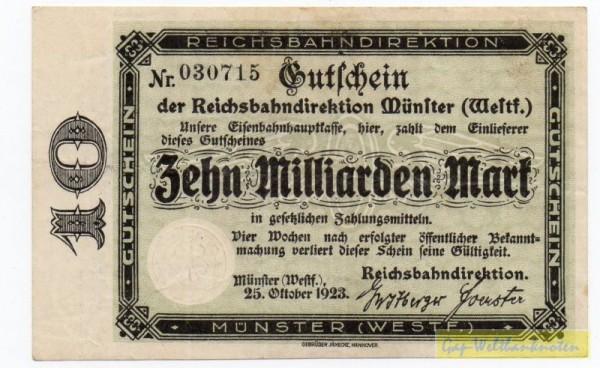 Wz Winterwellen, KN 3.7 mm - (Sie sehen ein Musterbild, nicht die angebotene Banknote)